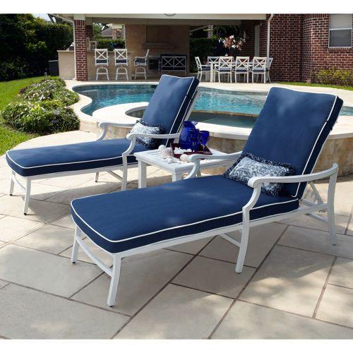 Riviera 3 Piece Chaise Set