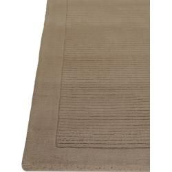 Photo of benuta wool rug plain taupe 160×230 cm – natural fiber rug made of wool benuta