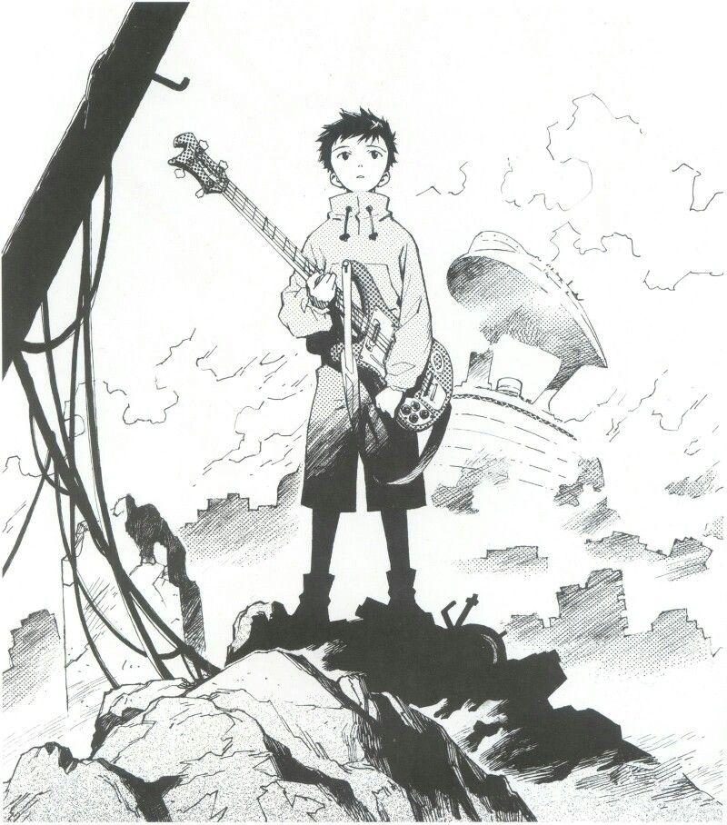 Flcl Naota Flcl Anime Illustration