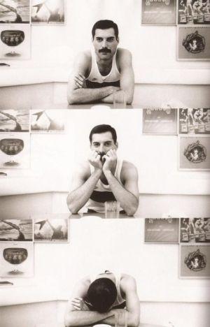 Freddie Mercury. S) by becky