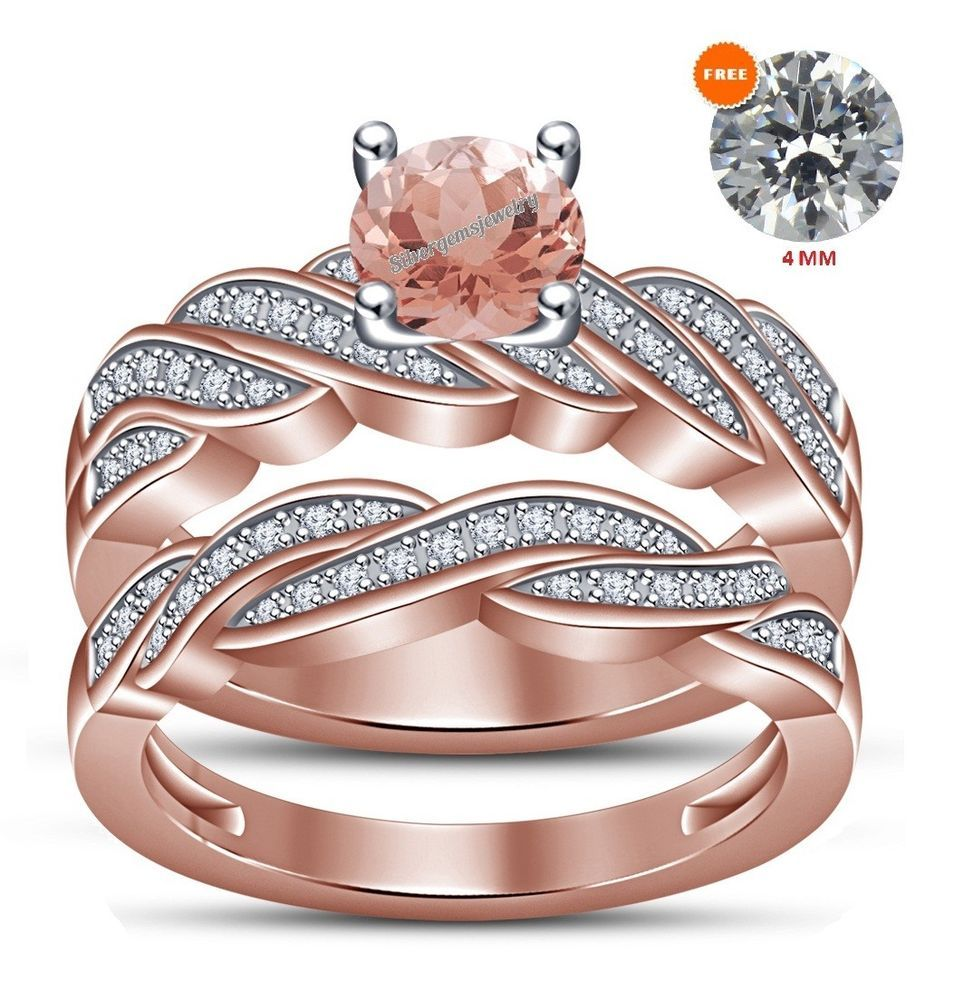 1.50 Ct 14K Rose Gold Round Diamond Engagement