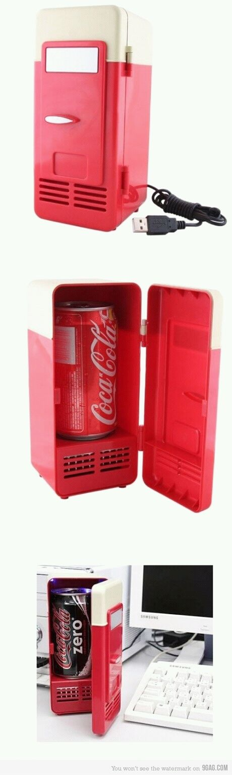 I did not get you a Mini Refrigerator for your soda. 'Cause it's silly.