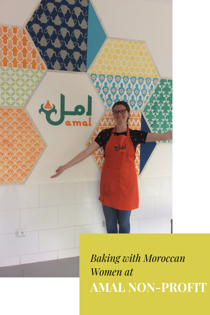 Baking with Moroccan Women at Amal NonProfit When I was