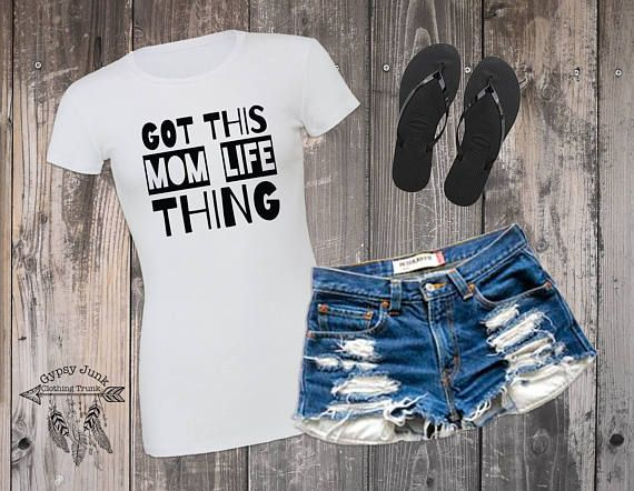 Mom Life Shirt Got This Thing Boss Shirts For Moms Gifts Hustle Trendy