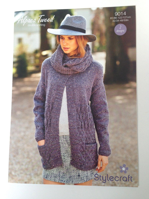 Stylecraft knitting pattern alpaca tweed double knitting 9014 2 etsy stylecraft knitting pattern bankloansurffo Choice Image