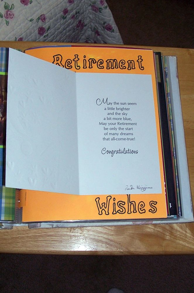 How To Make A Retirement Scrapbook For A Teacher | Gift ...