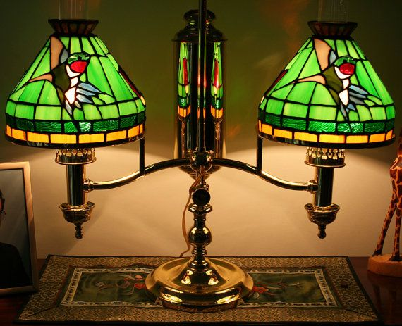 Custom made stained glass student lamp shades by singularart custom made stained glass student lamp shades by singularart 49900 aloadofball Image collections
