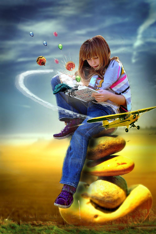 Создай волшебную книгу в Фотошоп | Фотографии, Идеи для ...