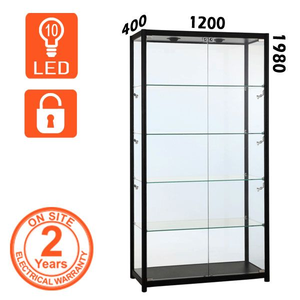 Black Retail Display Cabinet Display Cabinets Retail And Display