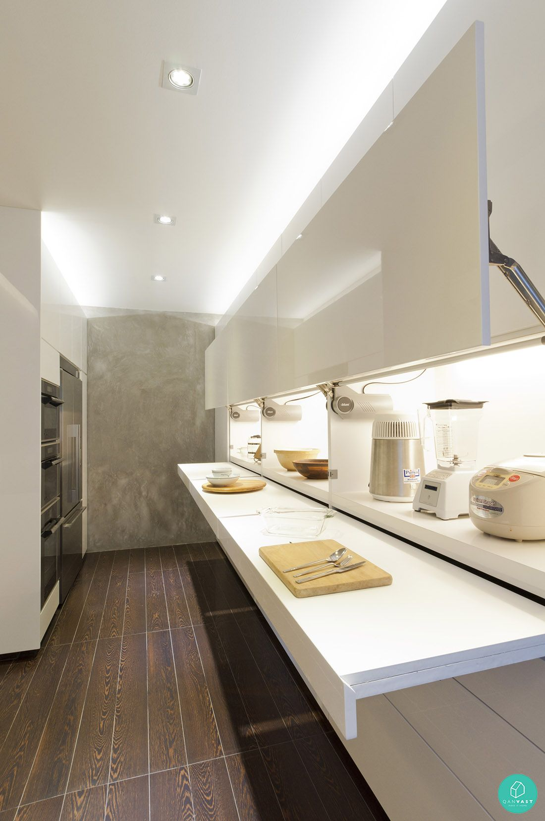 Smart Designs For Small Spaces In Singapore Homes Kitchen Interior Design Modern Pantry Design Interior Design Kitchen
