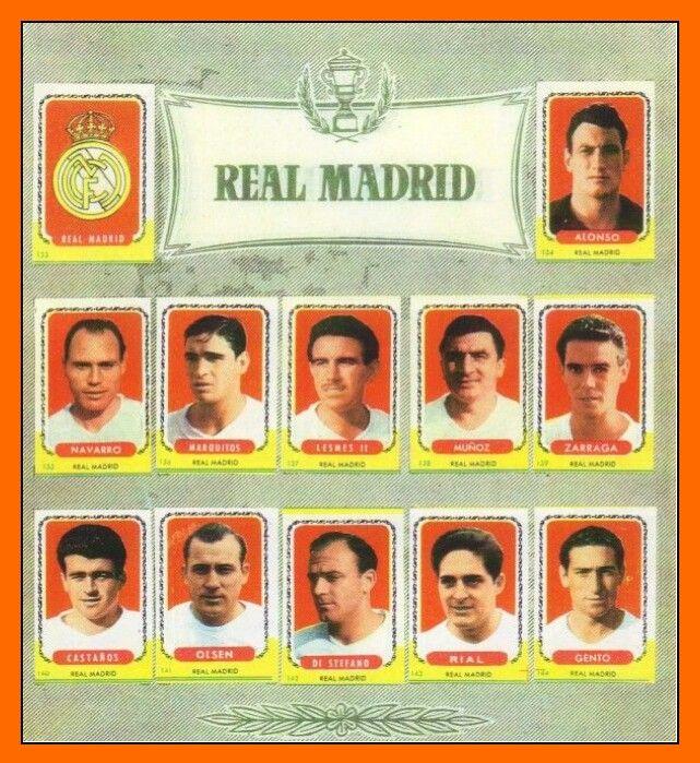 Real Madrid 1961.