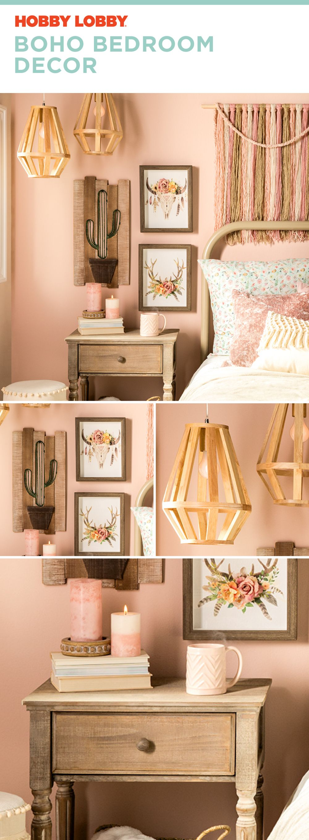 This Boho bedroom is all we need. (With images) | Kids ...