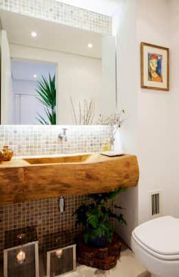 Negen badkamers met een vijf sterren hotel-look - Badkamer, Brocante ...