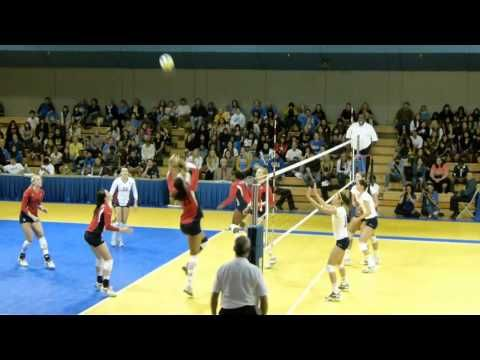 Ucla Women S Volleyball Outside Hitter Dicey Mcgraw Youtube Women Volleyball Volleyball Hitter Volleyball