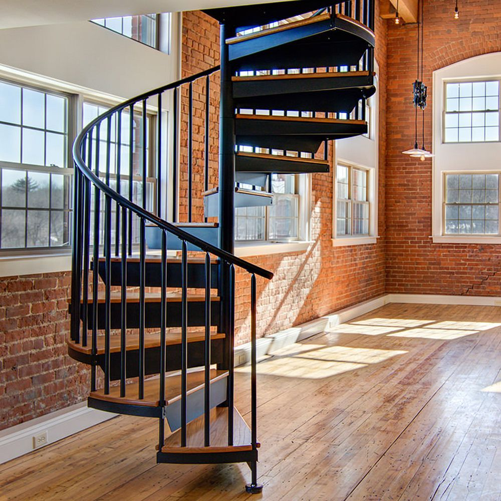 Great 4 Way To Get You Into The Spiral Staircase Trend ...