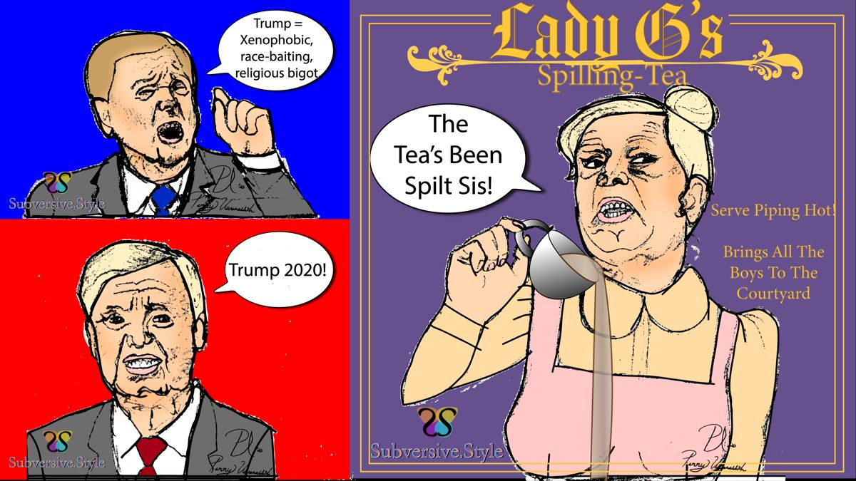 Big News Lady G Aka Lindsey Graham S Flip Flopped On More Than His Opinion Of Trump Subversive Style Lin In 2020 Political Comics Trump Memes Comic Book Cover