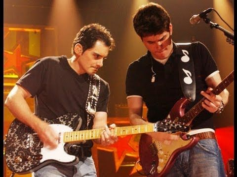 John Mayer And Brad Paisley Preforming Come Back To Bed At Cmt