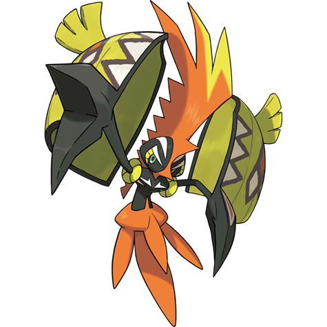 Ilustracion Oficial De Tapu Koko Tipos De Pokemon Dibujos Kawaii Dibujos Kawaii De Animales