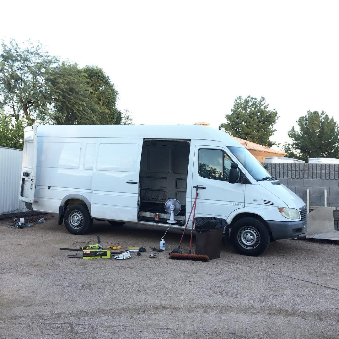1663b286a1 We sold our van and bought another! Just finished tearing it down and  prepping the