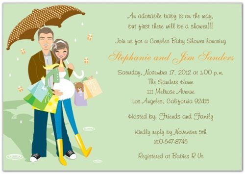 Baby Shower: Office Baby Shower Invitation Is The Fusion Of Concept ...