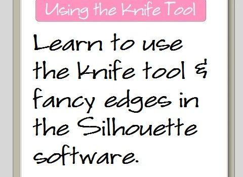 Leer het mes te gebruiken