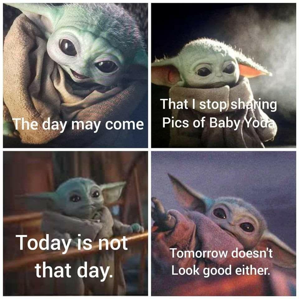 Pin By Ryan Rodbro On Baby Yoda In 2020 Yoda Funny Yoda Meme Star Wars Baby