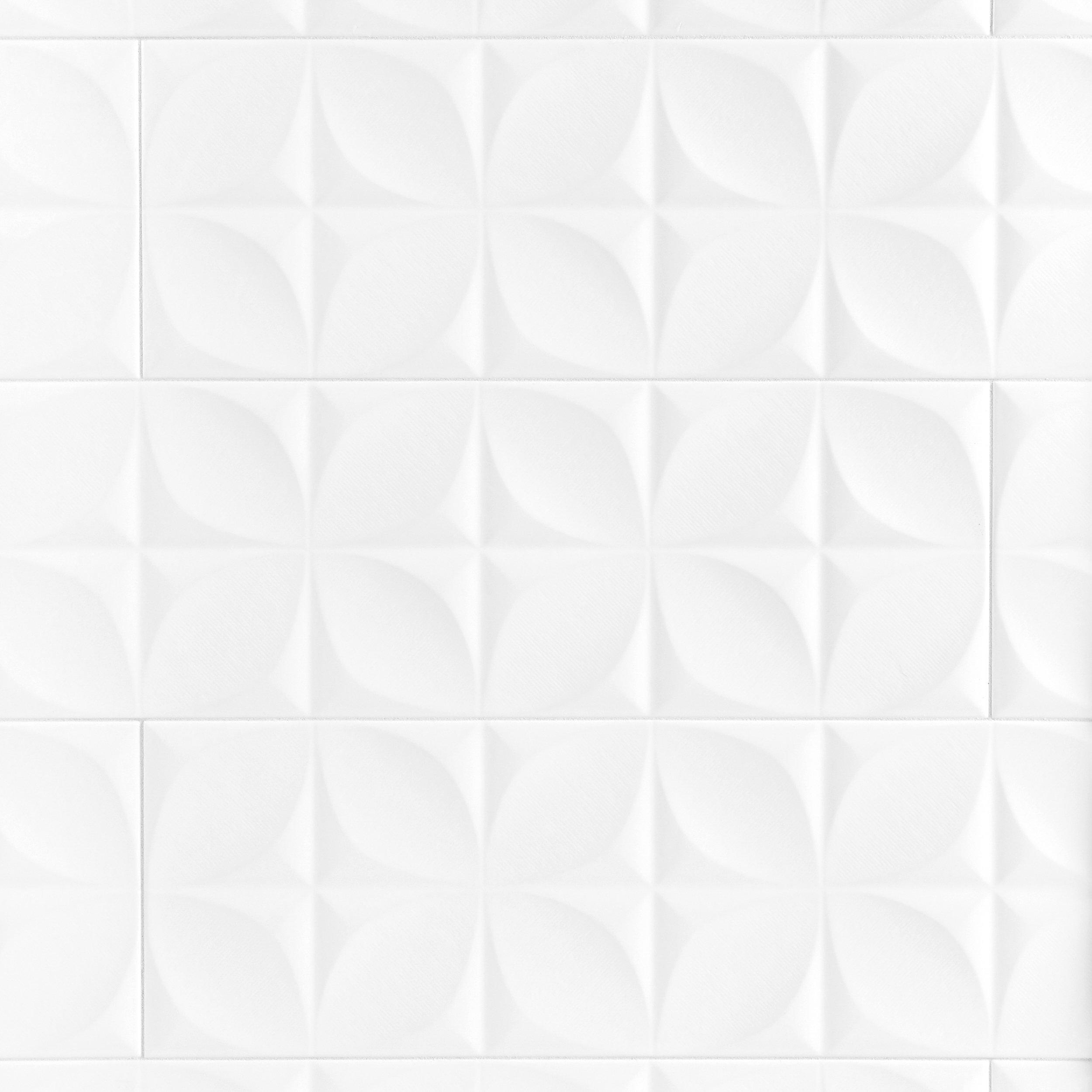 Polar White Ceramic Tile In