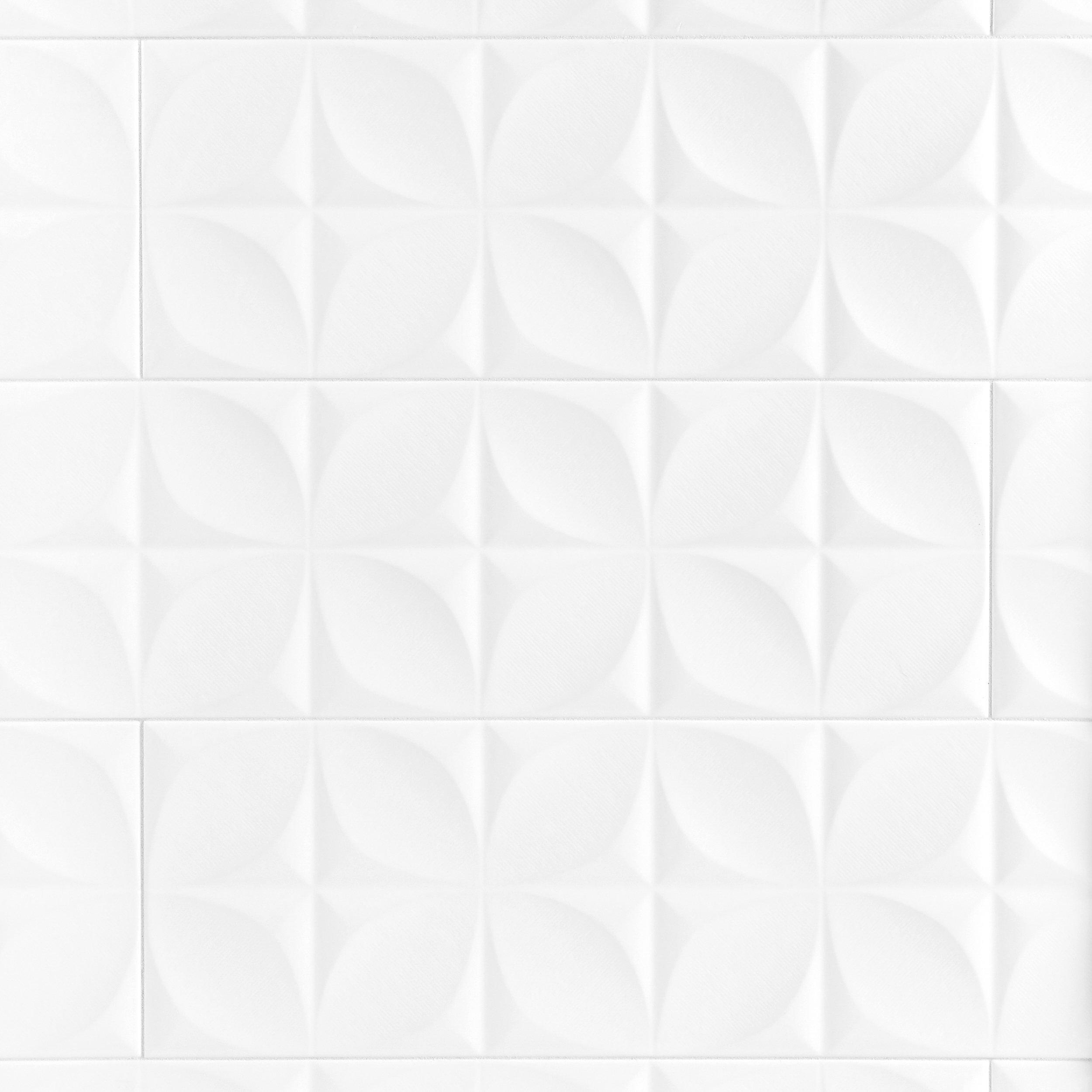 Polar White Ceramic Tile In