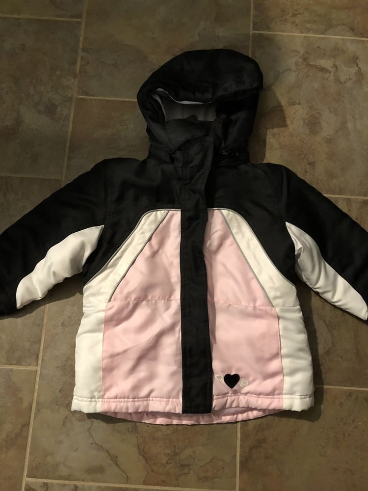 057f1219e350 Girls 3T Winter Jacket 3-in-1 Removable Reversible Liner  fashion ...