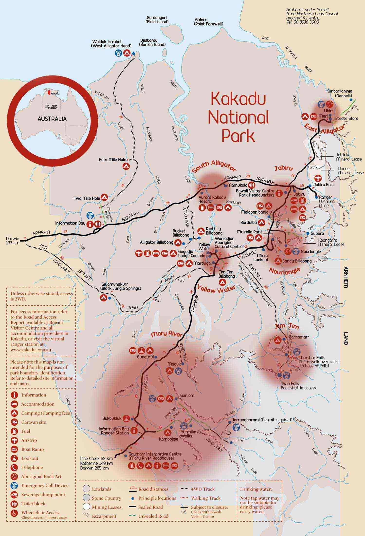 Map Of Australia Kakadu National Park.Exploring Kakadu National Park Walking Trail Ideas Australia