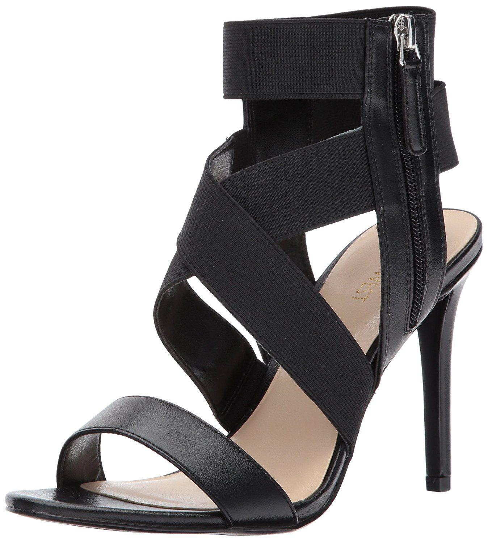 Women's Jacknet Fabric Heeled Sandal