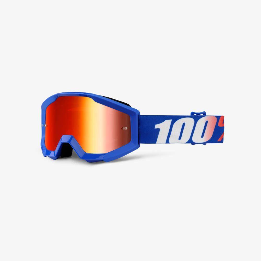 Offroad MX Motocross GOLD MIRROR LENS TORNADO 100/% ACCURI Adult Goggles