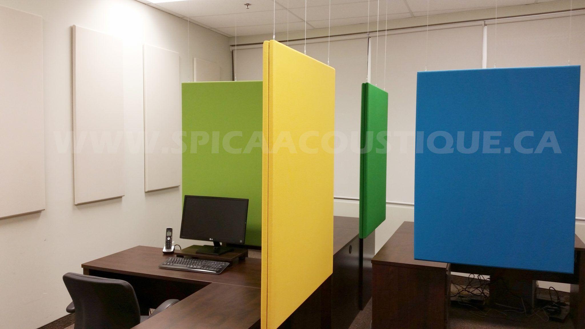 Realisations Spica Acoustique Panneaux Et Produits Acoustiques Traitement Acoustique Separateurs Acoustiques Gobo S Domrex Phar Home Decor Desk Decor