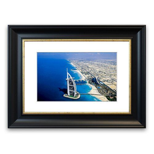 Photo of East Urban Home Gerahmter Fotodruck Dubai Beach | Wayfair.de