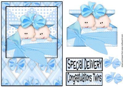 twin baby clip art cards clipart vector design