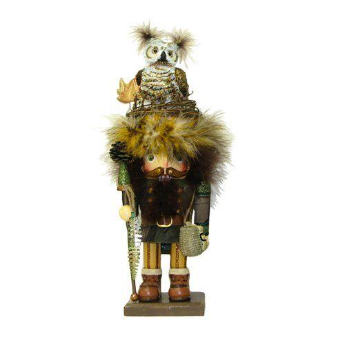Kurt Adler Hollywood Owl Hat Woodsman... for only $62.62