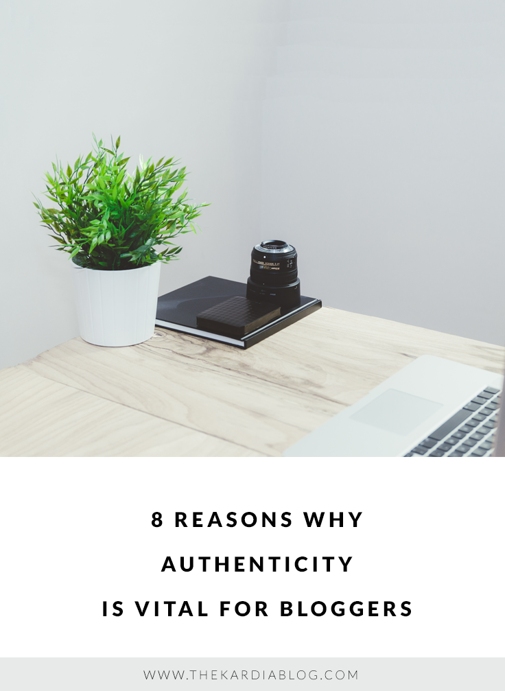 When People Read A Blog, They Want To Know That They Are