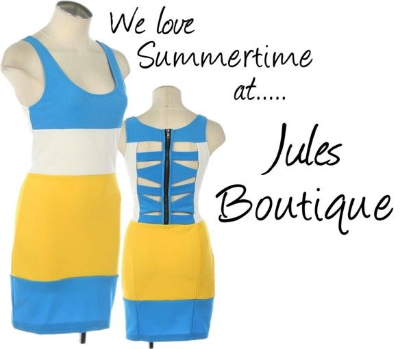 Summertime at Jules Boutique, created by jules-boutique on Polyvore