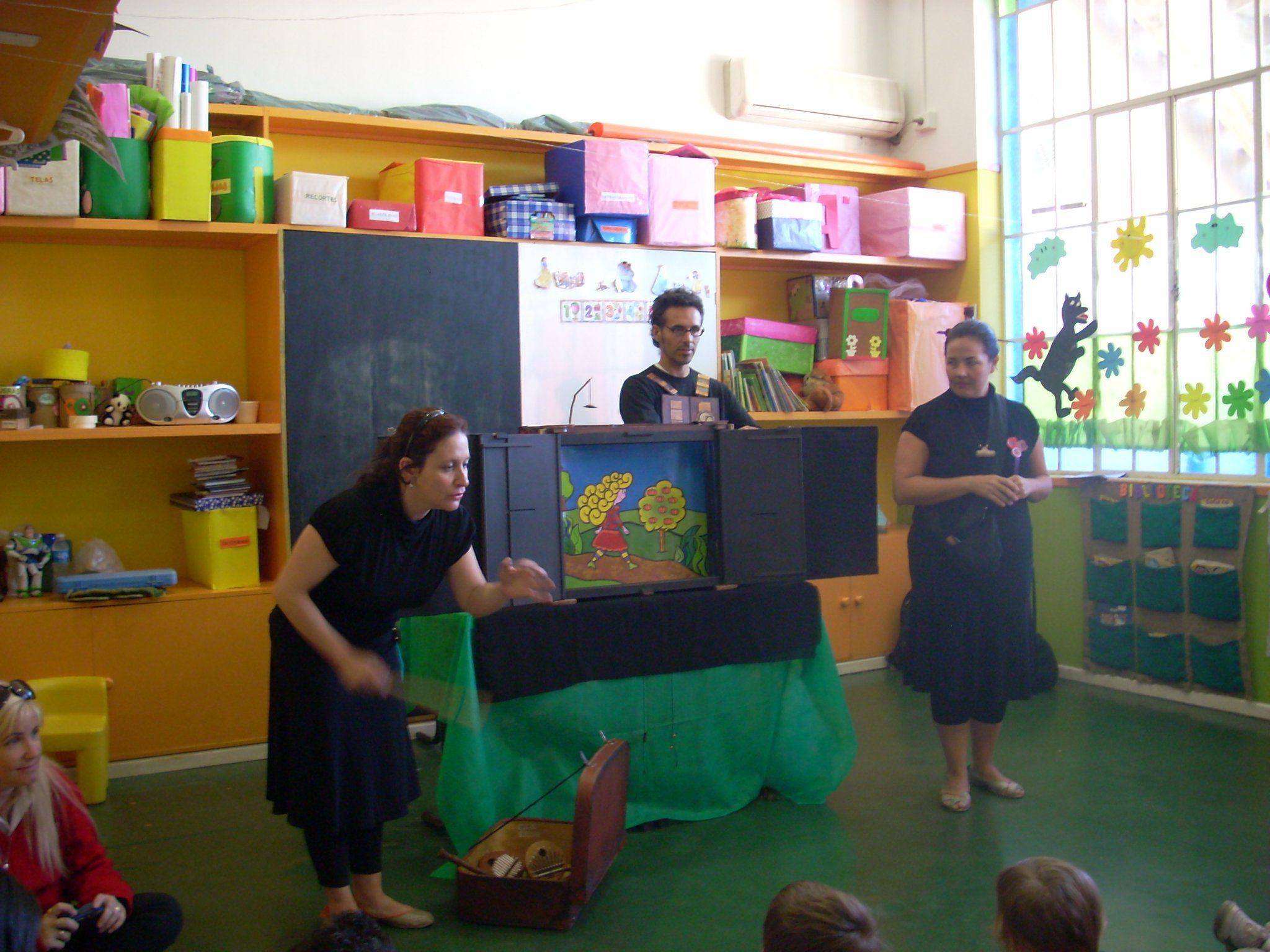 Kamishibai teatro de papel teatro pinterest teatro for Caja de colores jardin infantil