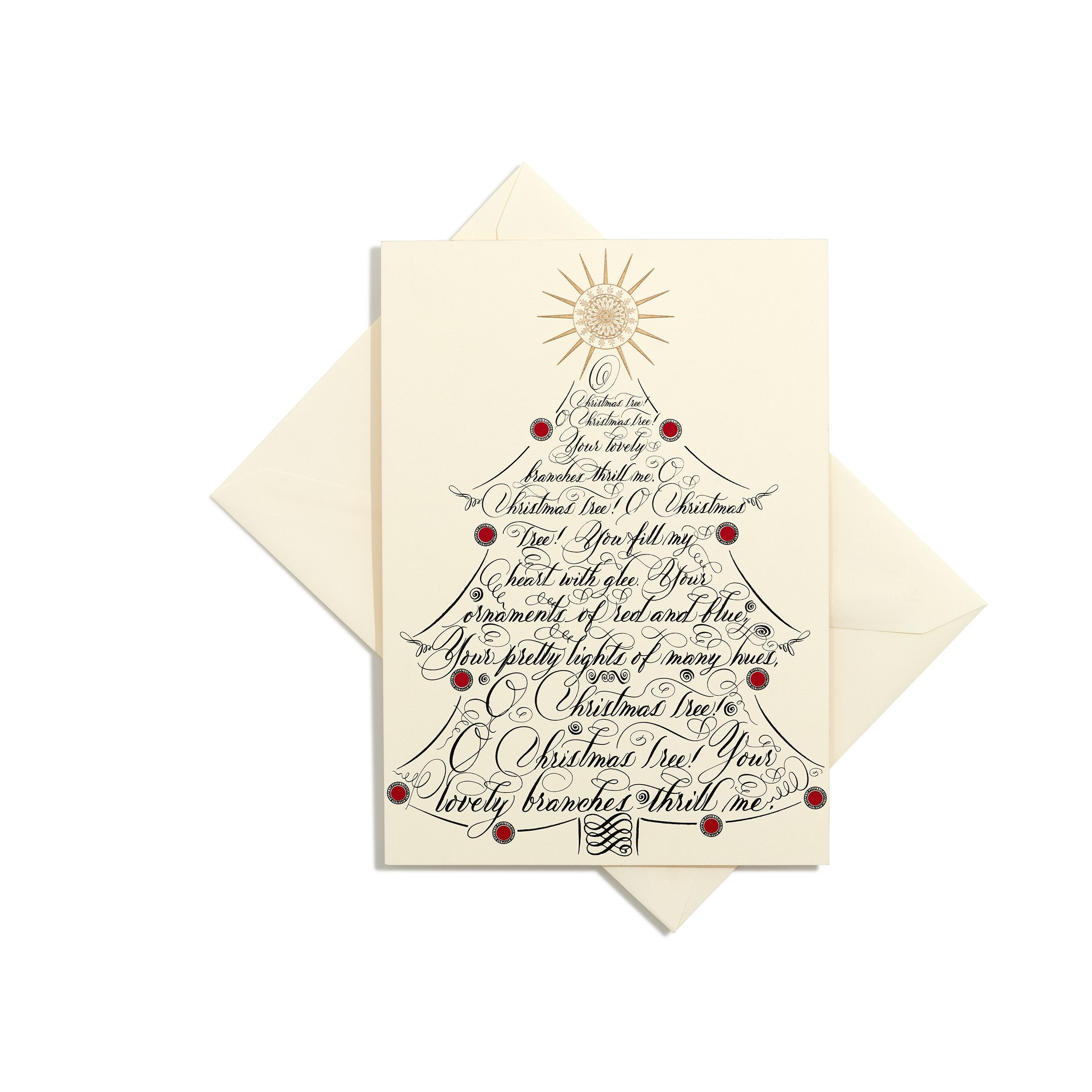 O Christmas Tree Grand Statement Card | Holidays | Pinterest | Cards ...