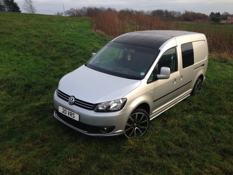 details about vw caddy maxi camper surf van 104bhp air con. Black Bedroom Furniture Sets. Home Design Ideas