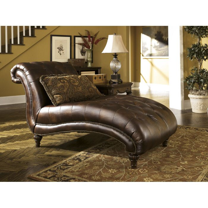Claremore   Antique   Chaise By Signature Design By Ashley. Get Your  Claremore   Antique   Chaise At Furniture Factory Outlet, Warsaw IN  Furniture Store.