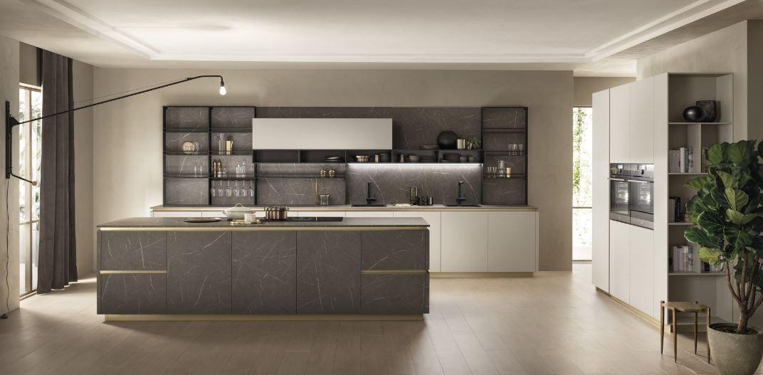 Cucina Delinea Scavolini con isola centrale. | Scavolini nel ...