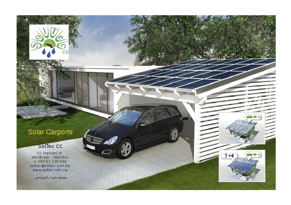 carport solar structures solar carports soltec cc solar pinterest h uschen. Black Bedroom Furniture Sets. Home Design Ideas