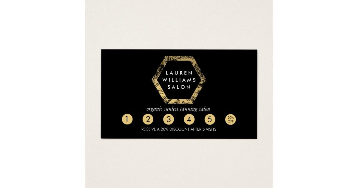 Coordinates with the Golden Palms Spray Tanning Salon Logo on Black ...