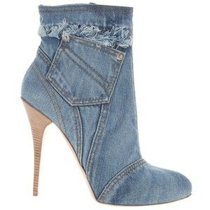 In the world of fashion denim is trending bit time. And it's not just jeans being rendered in the hearty fabric. Everything from shirts to dresses to swimwear are getting the denim treatment and, of course, shoes are no exception. Since denim is such an inherently casual you might expect a denim shoe to be ...
