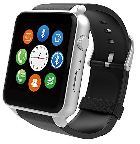 FENGSHI SuperWatch Smart Watch Bluetooth NFC Connectivity Sports Watch with Heart Rate MonitorTouch Screen and Magnetic Charging for Android Apple IOS -- More info could be found at the image url.