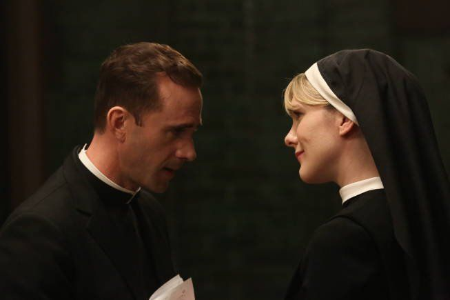 Still Of Joseph Fiennes And Lily Rabe In American Horror Story