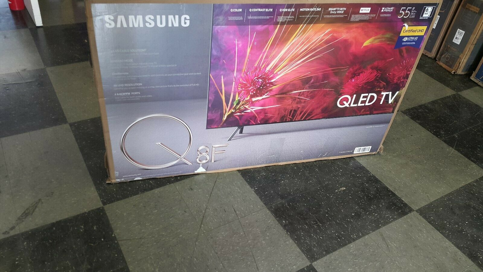 Samsung Q Series Q8fn 55 2160p 4k Qled Smart Tv Read Aditional