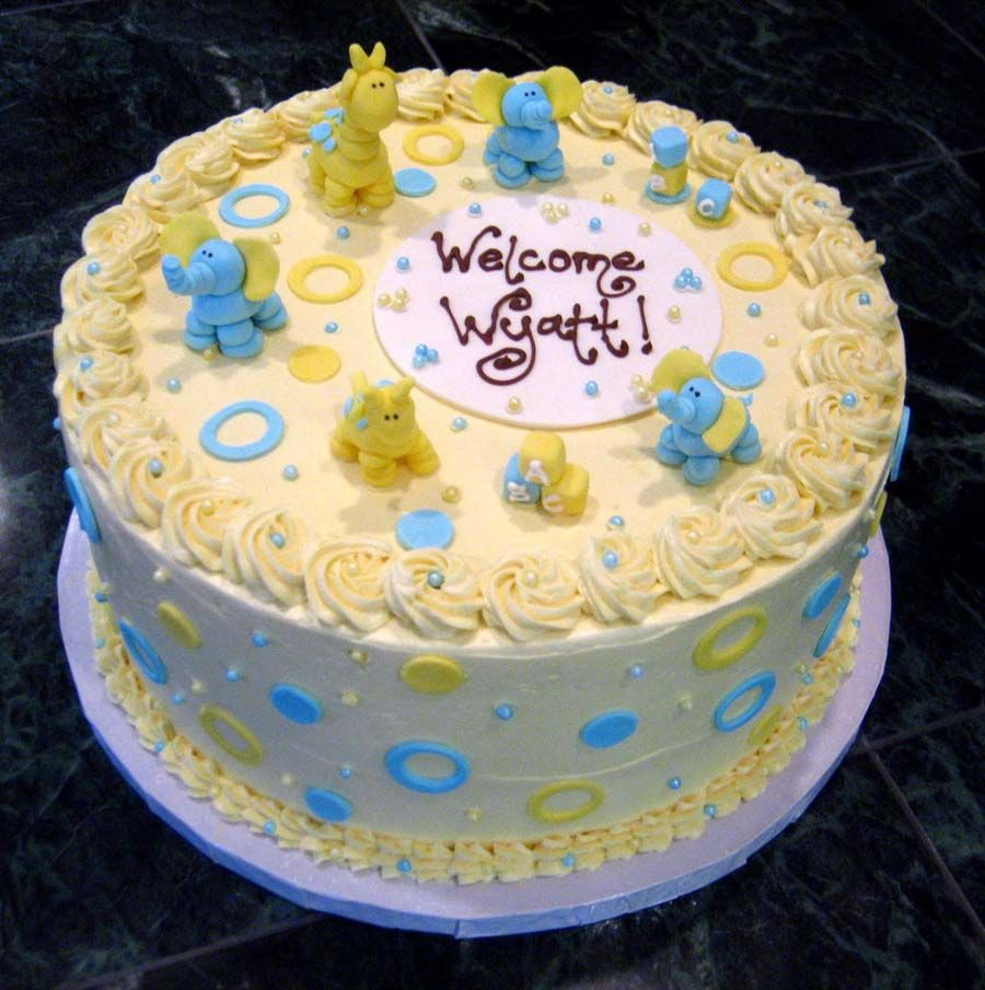 Boys Baby Shower Cake: Homemade Baby Shower Cake Ideas For A